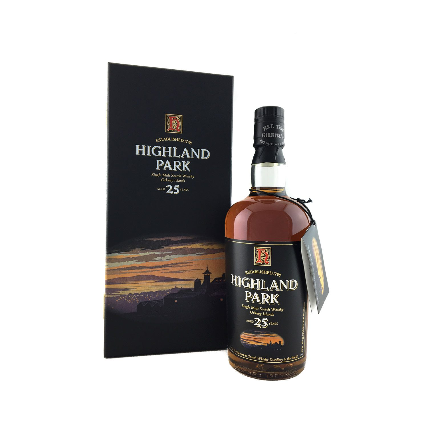 6acc8e5c849 Highland Park 25 Year Old 700ml 50.7%A dram to be savoured. - The ...