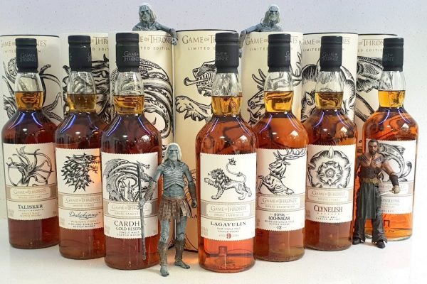 The Game Of Thrones Single Malt Scotch Whisky Collection Has Arrived