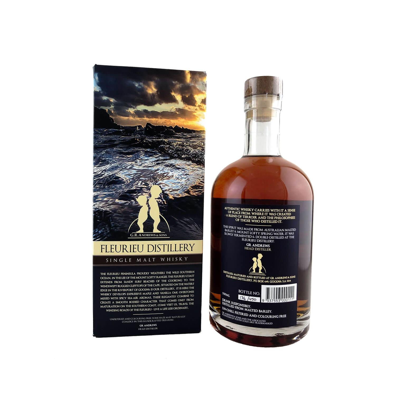 Fleurieu 'Ecto Gammat' Single Malt Whisky 700ml 52.9%