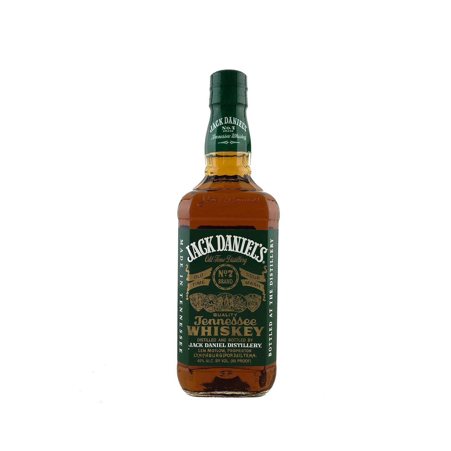 Jack Daniels Green Label 'Heritage' Tennessee Whiskey