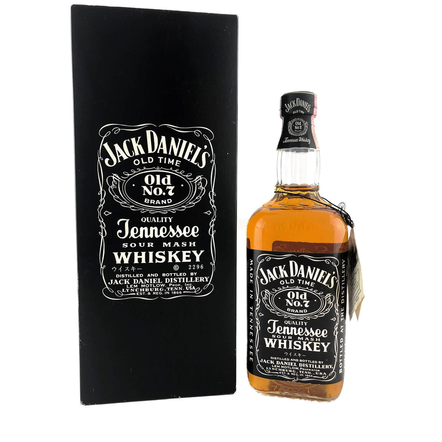 JACK DANIELS IF YOU/'RE THE KIND OF PERSON HANG TAG FROM JAPAN